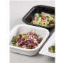 BSW0011 Deli Bowl White & Black