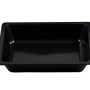 BSW0013.BCK - Half Insert  Display Bowl Black 320x260x60mm - ABS