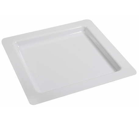 BSW0015 - Square Tray White 385x385x25mm