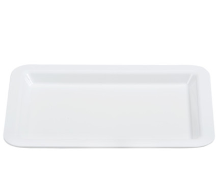 BSW0022 - Serving Tray Small White 296x215x20 - ABS