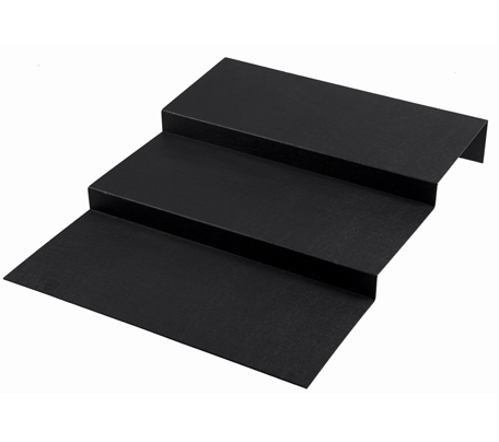 BSW0039 - Step Riser 2 Step Black (600x750x95mm)