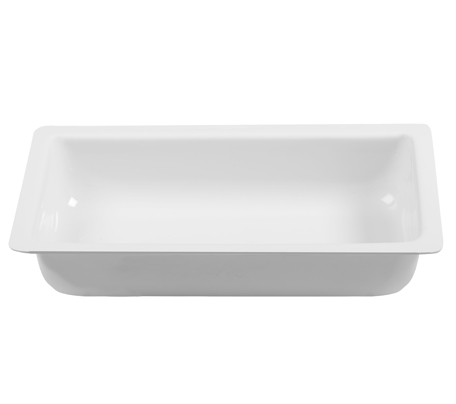 BSW0056.DEEP -Display Tray Bowl Deep White (445x270x80mm)