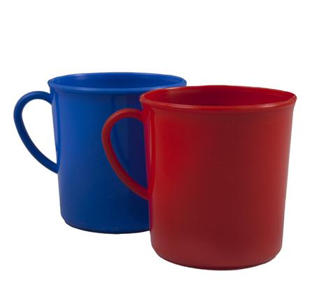 BSW0061- Mug Plastic (Red Blue Green 300ml)