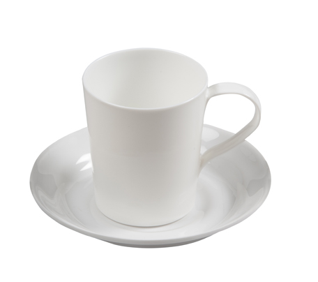BSW0140 - Saucer for Mug White (16x20mm)