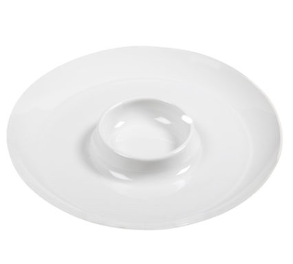 BSW0147 - Round platter with dip (410X30mm)