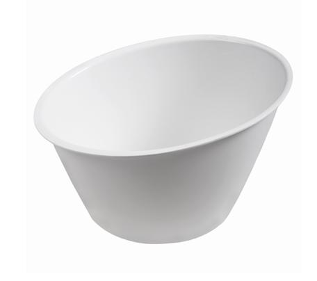 BSW0166 - Large Slanted Bowl (White)