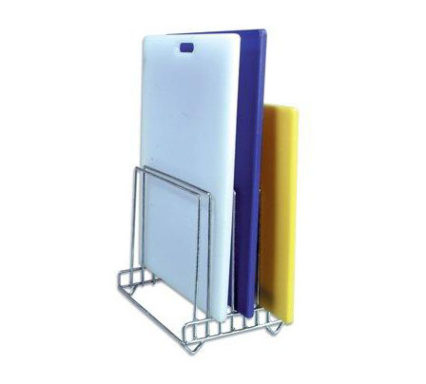 CBP0380 - Cutting Board & Chrome Stand-1