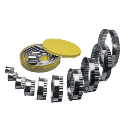 RCP0010 -  Round Cutter Stainless Steel Set