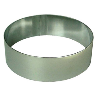 CRR0280 - Cake Ring Round Stainless Steel