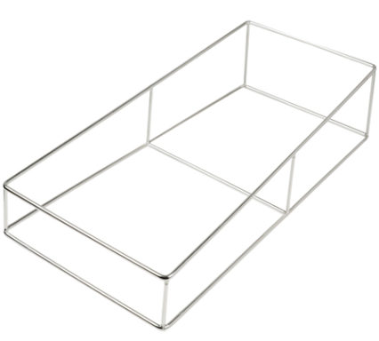 BSW0107SSteel Frame for Gourmet Inserts & Medium 300x650mm