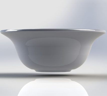 Elegant large bowl