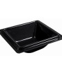 BSW0010.S.BCK - Square Bowl small edge Black 215x215x70mm