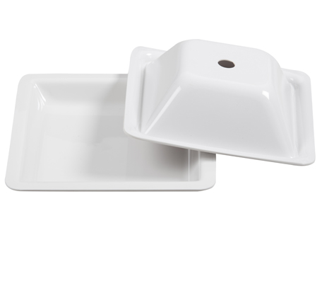 BSW0006.D - Dome for Dinner Plate Square (225x225x60mm)