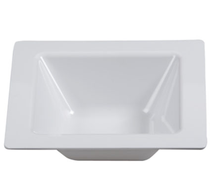 BSW0010 - Square Bowl White