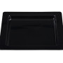 BSW0015.BCK - Square Tray Black 385x385x25mm