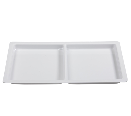 BSW0016.2DIV - Display Tray 2 Division White 560x355x20mm