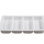 BSW0016.4DIV DEEP - Display Tray 4 Division White 560x355x70mm