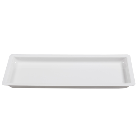 BSW0027 - Baguette Tray Large White (670x320x45mm)