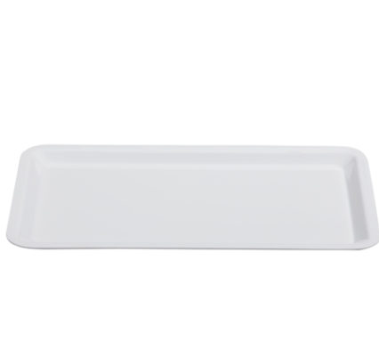 BSW0046 - Rectangular Tray White (530x325x15mm)