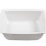 BSW0082.S - Salad Bowl White Semi-square Shallow (285x285x60mm)