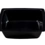 BSW0082.S.BCK - Salad Bowl Black Semi-Square Shallow (285x285x60mm)