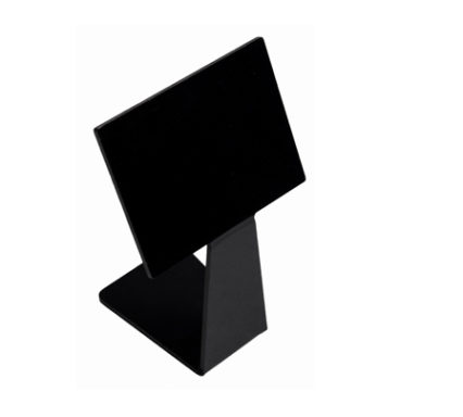 BSW0121.BCK - Price Stand Black (160mm)