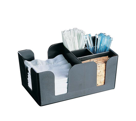 BCD0001 - Bar Caddy Condiment Holder Black